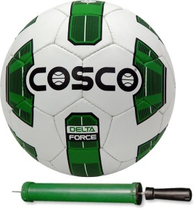 Cosco DELTA FORCE Football With Pump Size-5 Football -   Size: 5