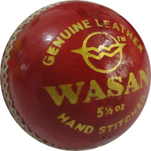 Wasan Leather Cricket Ball -   Size: 3
