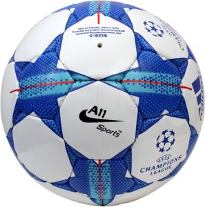 A11 Sports Champion League Blue Football -   Size: 5