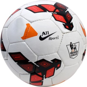 A11 Sports Premier League Red Football -   Size: 5