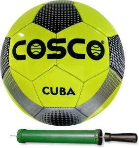 Cosco CUBA Football With Pump Size-5 Football -   Size: 5