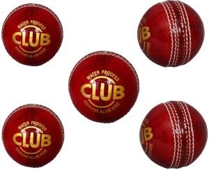 Priya Sports Red Cric Cricket Ball -   Size: 5