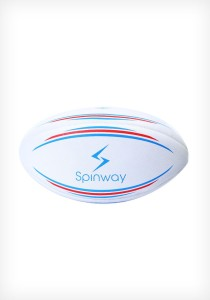 a33f6059d58d Spinway Rugby Rugby Ball Size 5 Pack of 1 White Best Price in India ...