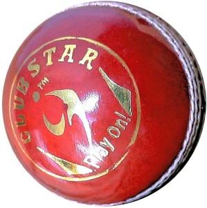SM Club Star Cricket Ball -   Size: 5