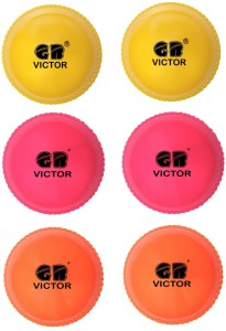 GB VICTOR Wind Pack of 6 Cricket Ball -   Size: 5