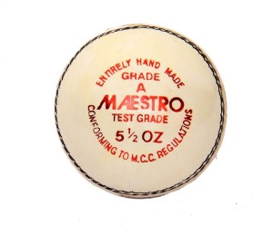 CW Maestro Leather Cricket Ball -   Size: Full Size