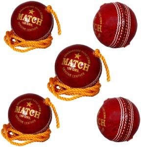 Priya Sports Practice Red Cricket Ball -   Size: 5