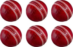 Avats Cricket Kit Combo Set Of 6 Balls Cricket Ball -   Size: 5