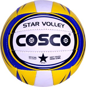 dc487fba6f9f0 Cosco STC Star Volleyball Volleyball - Size 5 ( Pack of 1 Multicolor )