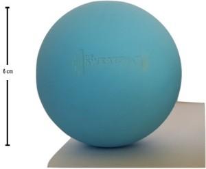 The SweatShop Round Blue Massage Ball -   Size: 6
