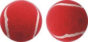 J&JC GREAT ( 2 PCS) Tennis Ball Tennis Ball -   Size: 6.5
