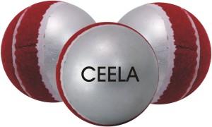 Ceela Sports swing Tennis Cricket Ball -   Size: 4