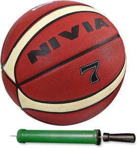 Nivia Engraver Basketball With Pump Size-6 Basketball -   Size: 6