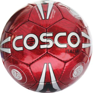 Cosco Italia Silver OR White OR Red OR Grey OR Purple OR Black Football -   Size: 3