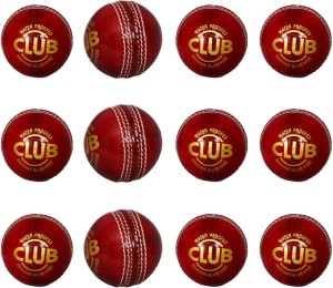 Priya Sports PCRED-12 Cricket Ball -   Size: 5,  Diameter: 2.24 cm