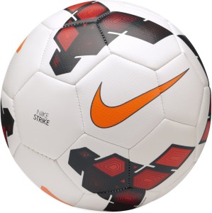 8a8b19af68 Nike Strike Football Size 5 Orange White Red Best Price in India ...