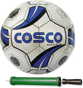 Cosco MADRID Football With Pump Size-5 Football -   Size: 5