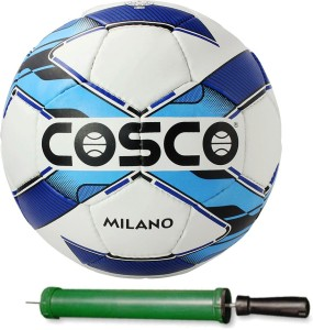 Cosco MILANO Football With Pump Size-5 Football -   Size: 5