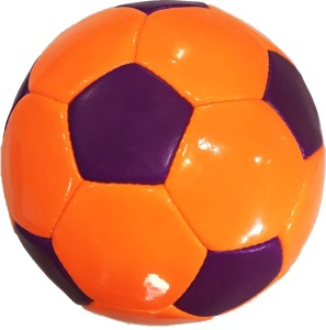 Dee Mannequin Orange And Purple Football -   Size: 5