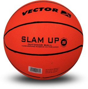 50aa2f42ccc68b Vector X Slam Up Basketball Size 5 Pack of 1 Orange Best Price in ...