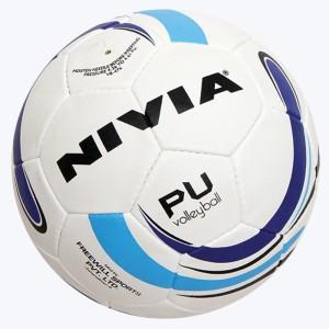 Nivia PU (32 P) VB-476 Volleyball -   Size: 4
