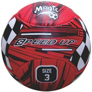 Speed Up Magic Leatherite Football -   Size: 3