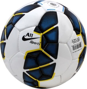 A11 Sports Blue Premier League Football -   Size: 5