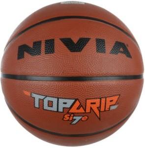 Nivia Top Grip 7 Basketball -   Size: 7