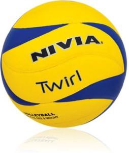 Nivia Twirl Volleyball -   Size: 4