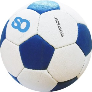 Sportson Hard Ground Blue Brazuca Football -   Size: 5
