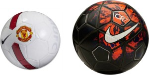 Retail World CR7 & UTD WHITE Football -   Size: 5