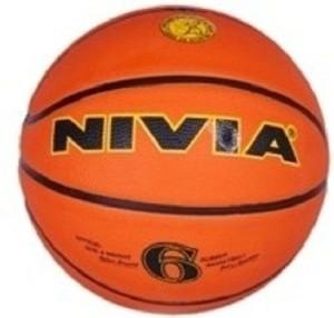 Nivia True Orange Basketball -   Size: 6