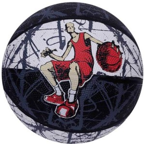 Vector X BB-TOON-BLK-WHT-7 Basketball -   Size: 7