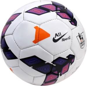A11 Sports Premier League Purple Football -   Size: 5, 5