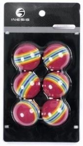 5359b305aad Inesis by Decathlon Eva Stripes Golf Ball Pack of 6 Best Price in ...