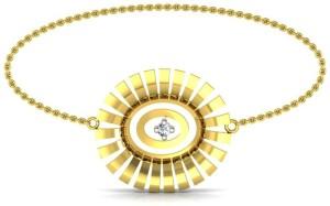 Avsar Ujavala Yellow Gold 18kt Diamond Bracelet