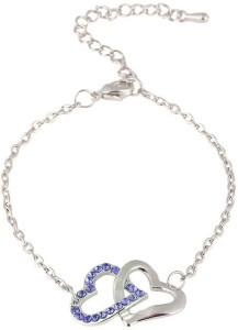 c1163f0ef0af7 Carina Crystal Swarovski Crystal Sterling Silver Bracelet