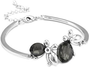 7036385d0c8b Favola Alloy Swarovski Crystal Rhodium Bracelet Best Price in India ...