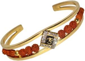 Spiritual Max Brass 18K Yellow Gold Bracelet