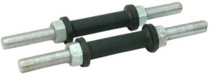 Sports Solutions Steel Dumbell Rods 14 Inches Weight Lifting Bar