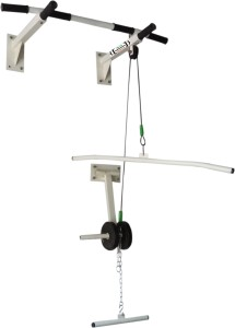 MH JIM EQUIPMENTS Pull Up Bar With Top Pully Chin-up Bar