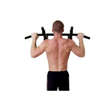 Home gym dynamics wall mounted pull up bar best price in india