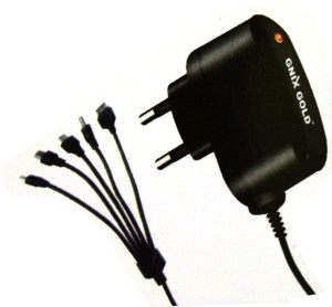 Creator Double IC Protection 5 in 1 Travel Charger Mobile Charger