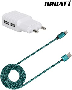 Orbatt USB2-CHGR2-GRN Mobile Charger