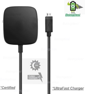 BeingDesi Moto Turbo 2.0 AMP Mobile Charger