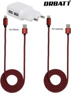 Orbatt CHR2-USB2-RED Mobile Charger