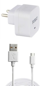 Furst 1.5 Amp. USB Adapter with Cable (1 Mtr) For Oppo A30 Mobile Charger