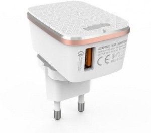 99Gems QualComm 2.0 Quick Charger for Iph 6/7/7 Plus Ipad & Mobile Charger