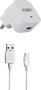 Furst 1.5 Amp. USB Adapter with Cable (1 Mtr) For Le Max Mobile Charger