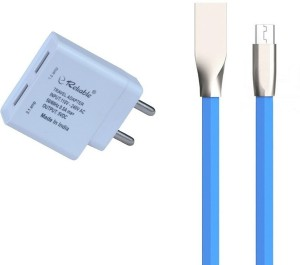 Reliable 2.1 Amp Dual USB Charger with Zinc Alloy Micro USB Cable Mobile Charger